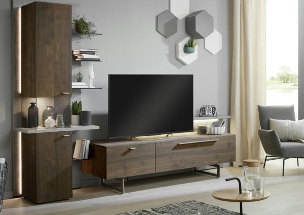 m bel schwab nagold m bel schwab nagold balkeneiche ger uchert vitrine. Black Bedroom Furniture Sets. Home Design Ideas
