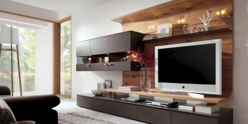 Moderne Wohnwand 2601