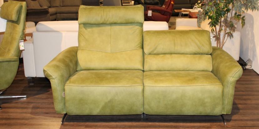 Leder-Sofa 2½-sitzig IL-4053