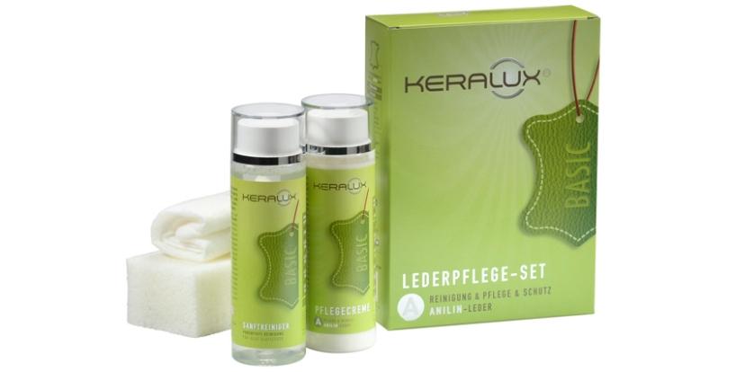 KERALUX® Lederpflege-Set A Anilin-Leder 3005 von LCK