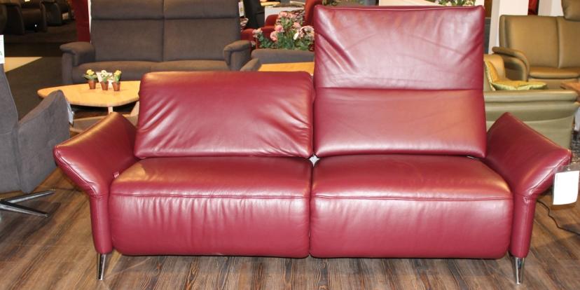 Leder-Sofa 3-sitzig Monthey