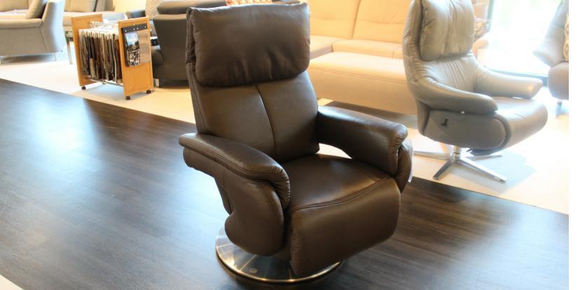 Leder-Relaxsessel 2940/ 7344