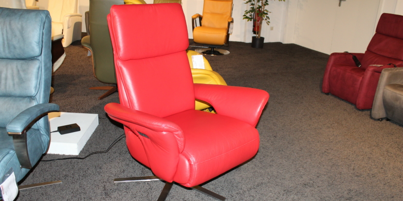 Leder-Relaxsessel Monthey Lounge